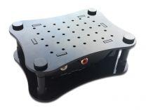 Case Allo BOSS - Acrylic for Raspberry Pi 4 - black B-Stock