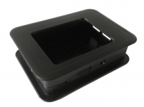 Case for 2,8'' Display Raspberry Pi 2 - Black