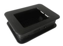 Case for 2,8'' Display Raspberry Pi 2 - Black