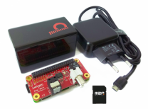 JustBoom Digi Zero Bundle with Raspberry Pi Zero W and Max2Play