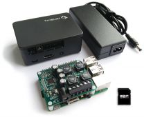 HiFiBerry Amp Bundle mit Raspberry Pi und Max2Play