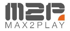 max2play logo